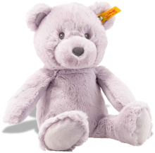 click to see Steiff Lilac Bearzy Cuddly Friends in detail