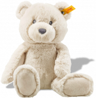 click to see Steiff Beige Bearzy Cuddly Friend in detail