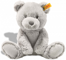 click to see Steiff Grey Bearz Cuddly Friend Teddy Bear in detail