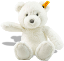 click to see Steiff White Bearz Cuddly Friend in detail