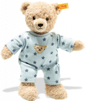 click to see Steiff  Teddy Bear Boy With Pyjamas in detail