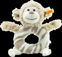 click to see Steiff  Cuddly Bingo Monkey Grip in detail