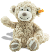 click to see Steiff  Cuddly Bingo Monkey Musical Toy in detail