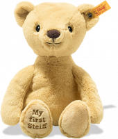 click to see Steiff My First Soft Cuddly Friend In Golden Blond in detail