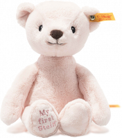 click to see Steiff My First Soft Cuddly Friend In Pink in detail