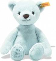 click to see Steiff My First Soft Cuddly Friend In Pale Blue in detail
