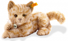 click to see Steiff  Leo Cat in detail