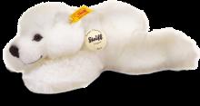 click to see Steiff 's Little Friend Arco Polar Bear - 22cm in detail