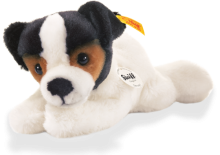 click to see Steiff Little Friend Jack Russell Puppy 'strupy' in detail