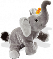 click to see Steiff 's Little Floppy Trampili Elephant in detail