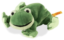 click to see Steiff  Little Floppy Cappy Frog in detail