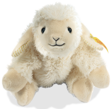 click to see Steiff  Floppy Linda Lamb in detail