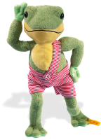 click to see Steiff Hippi Frog in detail