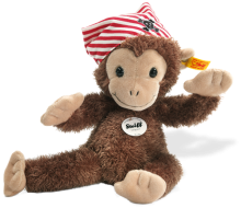 click to see Steiff  Scotty Monkey in detail