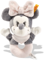 click to see Steiff  Minnie Mouse Grip Toy With Rattle in detail