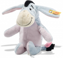 click to see Steiff  Disney Eeyore With Squeaker And Rustling Foil in detail