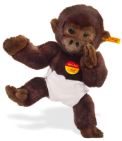 click to see Steiff  Baby Gorilla - 'mary Zwo' in detail