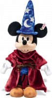 click to see Steiff  Disney Sorcerer's Apprentice Mickey Mouse in detail