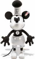 click to see Steiff  Mickey Mouse - Disney Steamboat Willie in detail