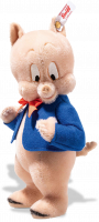 click to see Steiff  Porky Pig in detail