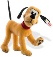 click to see Steiff  Pluto From Disney! in detail