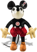 click to see Steiff  1932 Mickey Mouse in detail