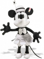 click to see Steiff  Minnie Mouse - Disney Teamboat Minnie in detail
