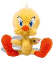 click to see Steiff  Tweety - Famous Yellow Canary in detail