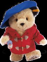 click to see Steiff  Paddington Bear in detail
