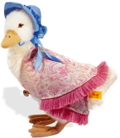 click to see Steiff  Jemima Puddleduck in detail