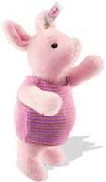 click to see Steiff  Mohair Piglet Bear From- Winnie The Pooh Books in detail