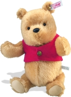 click to see Steiff  Winnie The Pooh in detail