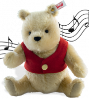 click to see Steiff  Musical Winnie The Pooh - Just Put Me Under Your Tree! in detail