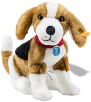 click to see Steiff  Nelly The Beagle in detail