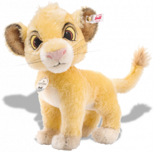 click to see Steiff  Disney Lion King Simba in detail