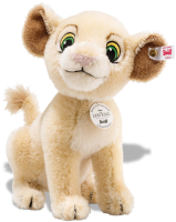 click to see Steiff  Sweet Nala From Famous Show And Lion King Film in detail