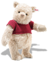 click to see Steiff  Teddy Bear Winnie The Pooh By Disney Christopher Robin in detail