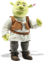 click to see Steiff  Shrek in detail