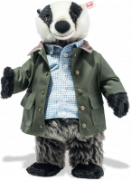 click to see Steiff Tommy Brock A Very Famous Badger in detail