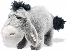 click to see Steiff  Disney Christopher Robin Eeyore in detail