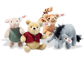 click to see Steiff  Disney Winnie The Pooh Set 95th Anniversary in detail