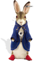 click to see Steiff  Peter Rabbit 1904 Replica in detail