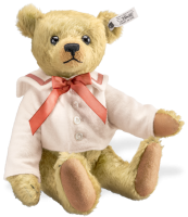 click to see Steiff  Archie Replica 1910 Teddy Bear in detail