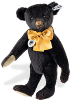 click to see Steiff  Replica 1912 Black Teddy Bear in detail