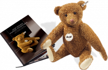 click to see Steiff  2010 Club Limited Edition Paper Teddy Bear in detail