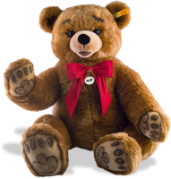 click to see Steiff  Studio Bobby Brown - A Big Bear in detail