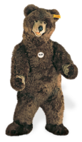 click to see Steiff  Studio Bear - He Stands Over 5 Feet Tall!! in detail