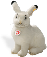 click to see Steiff  Studio Arctic Hare in detail