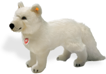click to see Steiff  Polar Fox in detail