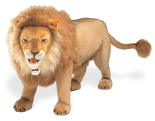 click to see Steiff  Studio Lion - King Of The Jungle in detail